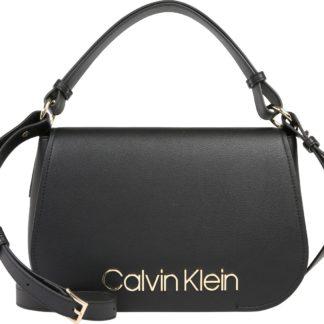 Calvin Klein Kabelka 'Dressed Up Satchel' černá