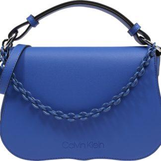 Calvin Klein Kabelka 'AMERICANA SHOULDER' modrá