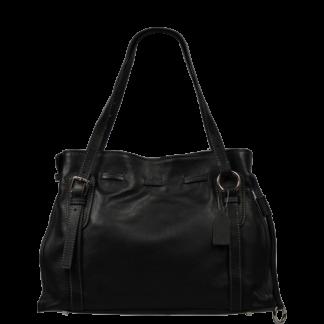Černá luxusní kabelka Maria Nera