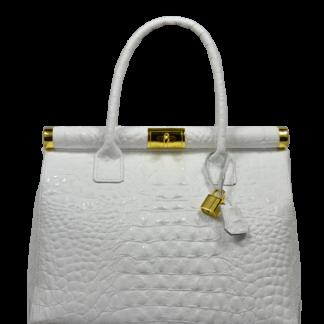 Bílá doktorská taška Laureta Bianca Cocco