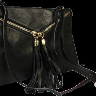 Černé kabelky do ruky Maida Nera Taschino
