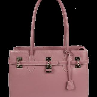 Kožená kabelka Azra Grande Rosa