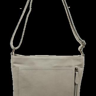 Kožené kabelky za kačku Flora Grigia Chiaro