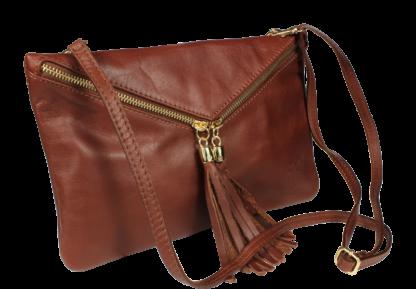 Malá kabelka přes rameno Maida Marrone Noce