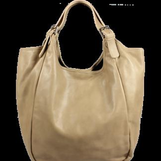 Kožená kabelka Adelaide Ocra