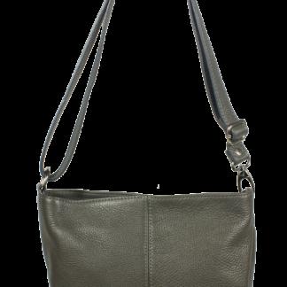Šedá kabelka nositelná přes rameno Batilda Grigia Scura