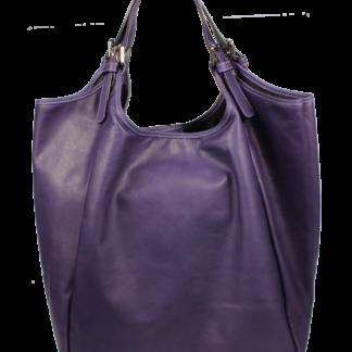 Kožená kabelka Adelaide Viola