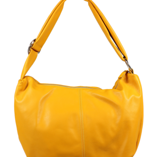 Žlutá kožená kabelka Gondola Gialla