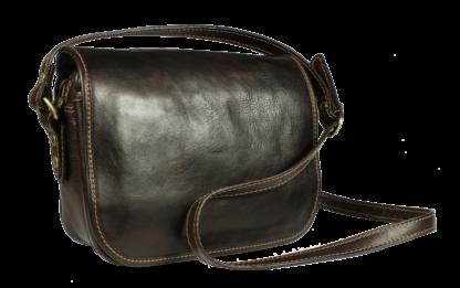 Floriano Cafe kožená kabelka z Itálie