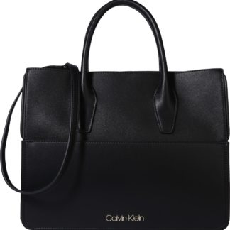Calvin Klein Kabelka 'ASSORTED TOTE' černá