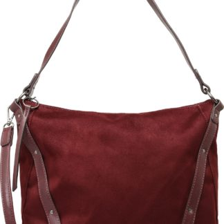 TAMARIS Kabelka 'ALBY Hobo Bag L' bordó