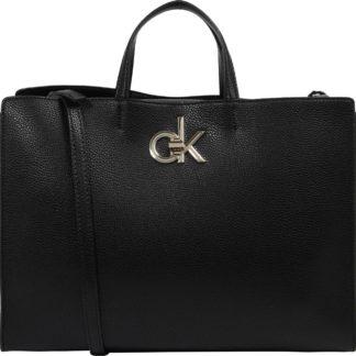 Calvin Klein Kabelka 'RE-LOCK TOTE' černá