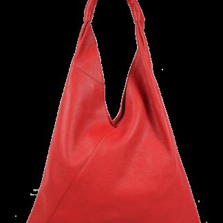 Dámská kožená kabelka přes rameno Alma Rossa