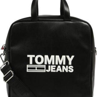 Tommy Jeans Kabelka 'TEXTURE PU TOTE' černá