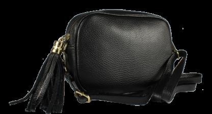 Italská kožená kabelka Bala Nera