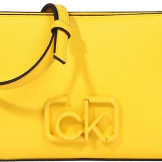 Calvin Klein Kabelka 'SIGNATURE EW CROSSBODY' žlutá