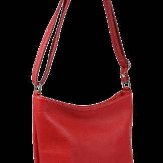 Crossbody kožená kabelka Ebe Rossa