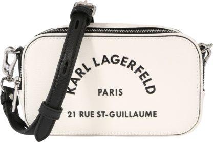 Karl Lagerfeld Brašna na kameru 'Rue St Guillaume' bílá