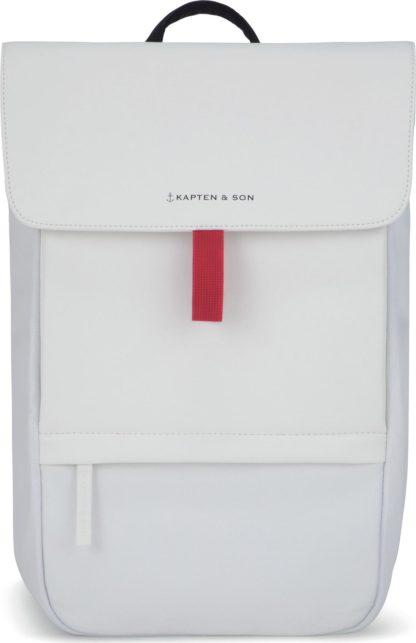 Kapten & Son Batoh 'Fyn' bílá / černá / červená