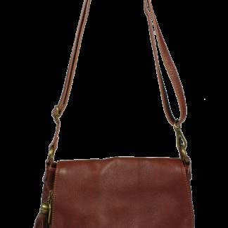 Italská kabelka kožená Prima Marrone